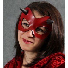 Tom Banwell Designs Minx Mask in Red Leather