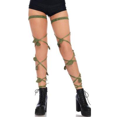 Leg Avenue Ivy Shimmer Garter Leg Wraps