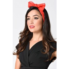 Unique Vintage Pin Up Chiffon Hair Scarf