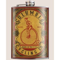 Trixie and Milo Columbia Cycling Flask, 8 oz