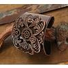 elope Antiqued Copper Gears Metal Cuff