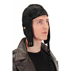 Elope Aviator Cap Black