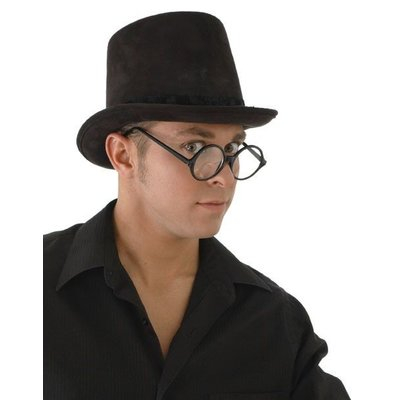 Elope Coachman Hat Black