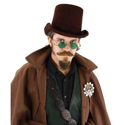 Elope Coachman Hat Dark Brown