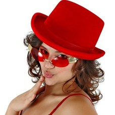 Elope Red Top Hat