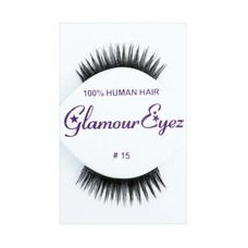 Eyelash Set-  Black Glamour Spiky 15