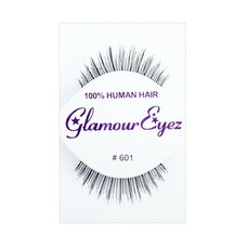 Eyelash Set-  Black Glamour Trimmed 601