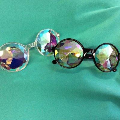 Mercury Kaleidoscope Novelty Glasses