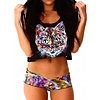 INTO THE AM Space Cat II Crop Top - OS