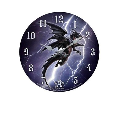 Alchemy England 1977 Lightening Dragon Clock