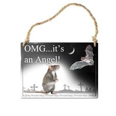 Alchemy England 1977 OMG… It's an Angel! Sign