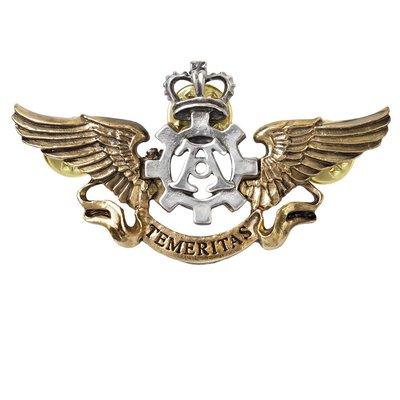 Alchemy England 1977 Temeritas Wings Medal