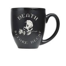 Alchemy England 1977 Death Before Decaf Ceramic Mug