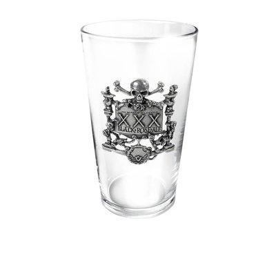 Alchemy England 1977 XXX Black Rose Ale Glass