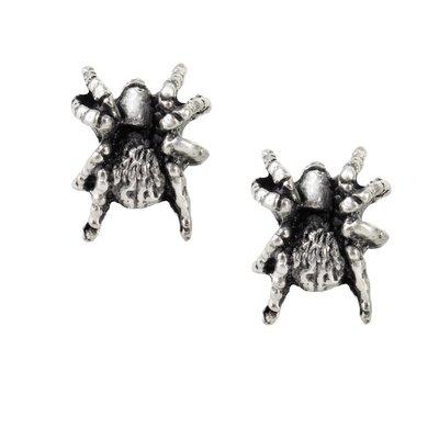 Alchemy England 1977 Black Widow Stud Earrings