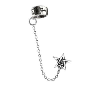 Alchemy England 1977 Pentagram Ear Cuff