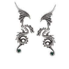 Alchemy England 1977 Bestia Regalis Earrings