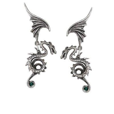 Alchemy England 1977 Bestia Regalis Earrings