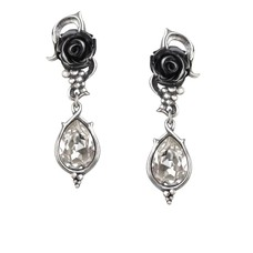 Alchemy England 1977 Bacchanal Rose Earrings