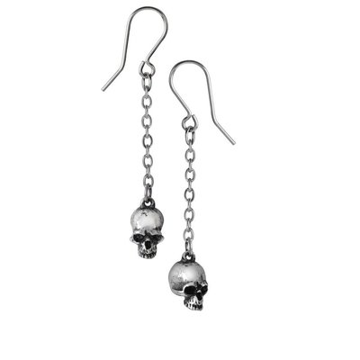 Alchemy England 1977 Deadskulls Earrings