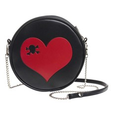 Alchemy England 1977 Skull Heart Bag