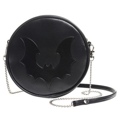 Alchemy England 1977 Black Bat Bag