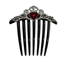 Alchemy England 1977 Claddagh Hair Comb