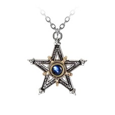 Alchemy England 1977 Medieval Pentangle Pendant