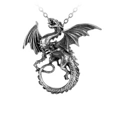 Alchemy England 1977 The Whitby Wyrm Pendant