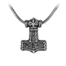 Alchemy England 1977 Bindrune Hammer Pendant