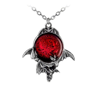 Alchemy England 1977 Blood Moon Pendant