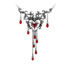 Alchemy England 1977 Bleeding Heart Necklace