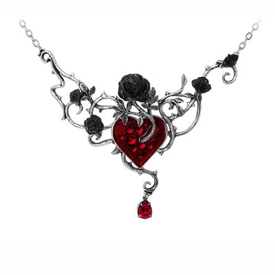 Alchemy England 1977 Bed Of Blood-Roses Necklace
