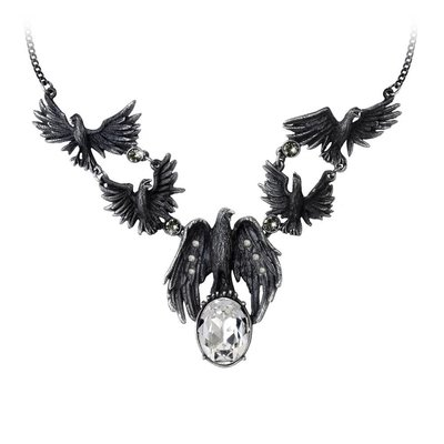 Alchemy England 1977 A Murder of Crows Necklace