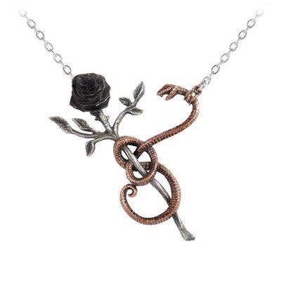 Alchemy England 1977 A Rose for Eve Necklace