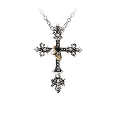 Alchemy England 1977 Maryam Theotokos Ring Cross Pendant