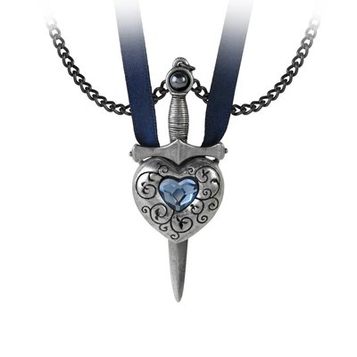 Alchemy England 1977 Love is King Necklace - Blue