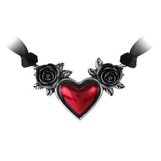 Alchemy England 1977 Blood Heart Necklace