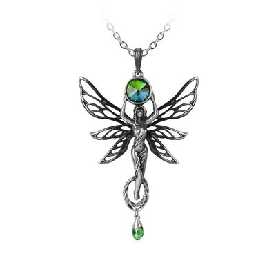 Alchemy England 1977 The Green Goddess Pendant