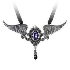 Alchemy England 1977 My Soul from the Shadow Necklace (Purple)