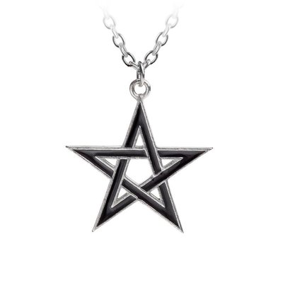 Alchemy England 1977 Black Star Pendant