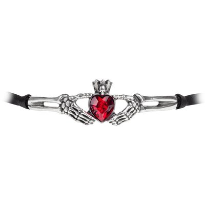 Alchemy England 1977 Claddagh By Night Choker