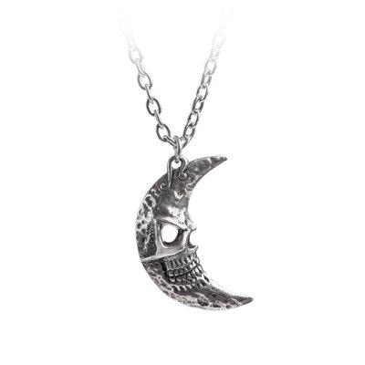 Alchemy England 1977 M'era Luna Crescens - Tragicom Moon Pendant