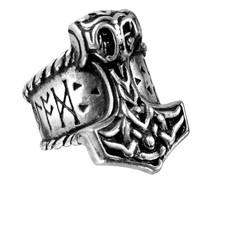 Alchemy England 1977 Thor's Runehammer Ring