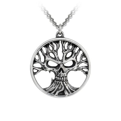 Alchemy England 1977 Gothik Tree of Death Pendant