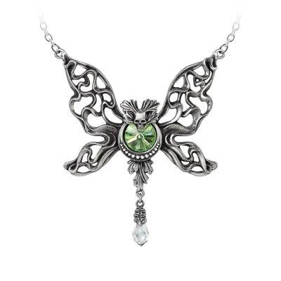Alchemy England 1977 Le Phantom Vert Necklace