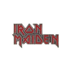 Alchemy England 1977 Iron Maiden: enamelled logo
