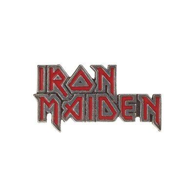 Alchemy England 1977 Iron Maiden: enamelled logo