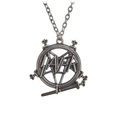 Alchemy England 1977 Slayer: Pentagram logo