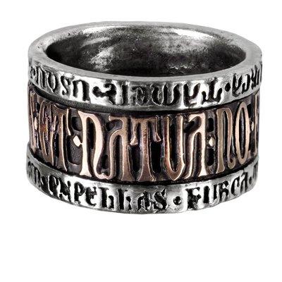 Alchemy England 1977 Deus Et Natura Ring